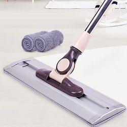 침대밑 거실 바닥 청소 물걸레 밀대 막대걸레