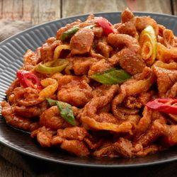 셰프리쿡 돼지 매콤 양념 주물럭 600g (2-3인분)