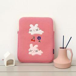 모찌타운 버니 핑크 아이패드 파우치 11인치