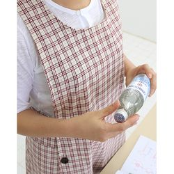 텐텐 체크 앞치마 어린이집 선생님 카페 앞치마