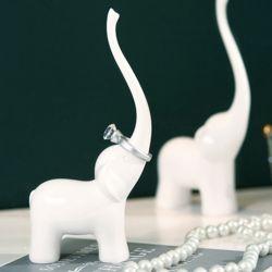 도자기 코끼리 반지걸이 거치대 보관함 정리함