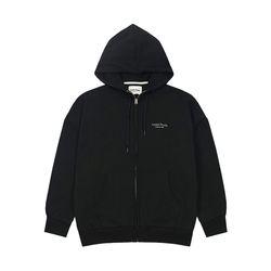 Studio Hood Zipup (black)
