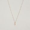 DROP PEARL 14K GOLDFILLED NECKLACE