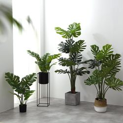 인조나무 인테리어 조화 나무 몬스테라 80cm