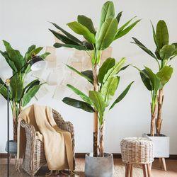인조나무 인테리어 조화 나무 바나나 200cm