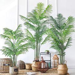 인조나무 인테리어 조화 나무 아레카야자 140cm