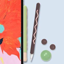 아이패드 애플 펜슬 1/2세대 막대과자 실리콘 케이스