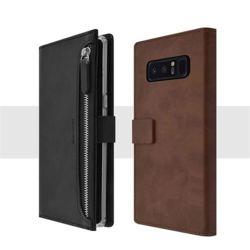 LG 엘지 Q92 가죽 지퍼 다이어리 카드 수납 케이스