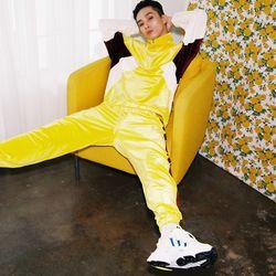SL 벨벳 조거 팬츠 yellow
