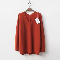 Maille Cashmere N Wool V-Neck Sweater
