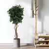 인조나무 인테리어 조화 나무 월계수 85cm