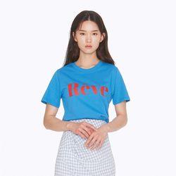 [노이커먼]REVE SHORTSLEEVES TEE SKY 티셔츠