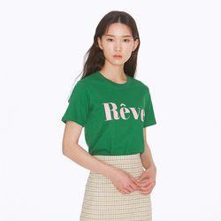 [노이커먼]REVE SHORTSLEEVES TEE GN 티셔츠