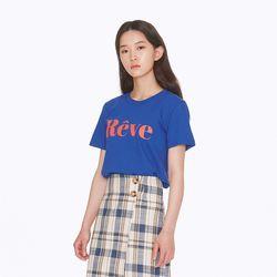 [노이커먼]REVE SHORTSLEEVES TEE BL 티셔츠