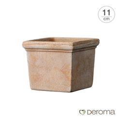 데로마 이태리토분 콰드로 미니 시에나(11cm)물구멍있음