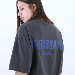 [마르트]AMBASSADOR T-SHIRT 티셔츠 (CHARCOAL)