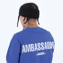 [마르트]AMBASSADOR T-SHIRT 티셔츠 (BLUE)