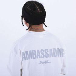 [마르트]AMBASSADOR T-SHIRT 티셔츠 (WHITE)