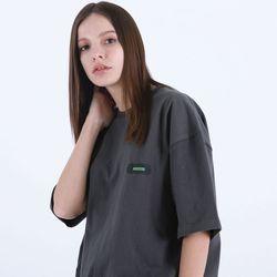 [마르트]TRIPLE LOGO T-SHIRT 티셔츠 (CHARCOAL)