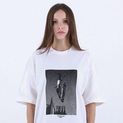 [마르트]SKATE PRINTING T-SHIRT 티셔츠 (WHITE)