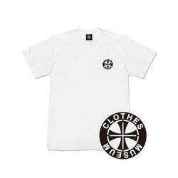 [클로즈뮤지엄] 써클 로고 반팔 티셔츠 - 화이트