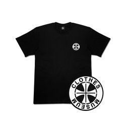 [클로즈뮤지엄] 써클 로고 반팔 티셔츠 - 블랙