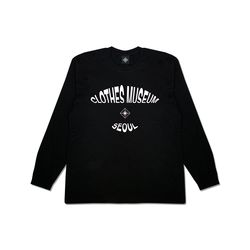 [클로즈뮤지엄] ELLIPSE LOGO LONG SLEEVES - BLACK