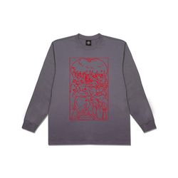 [클로즈뮤지엄] PRAYER LONG SLEEVES - CHARCOAL