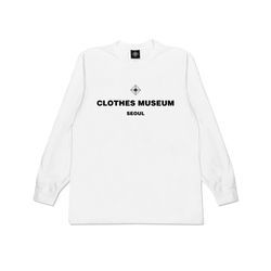 [클로즈뮤지엄] BASIC LOGO LONG SLEEVES - WHITE