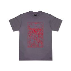 [클로즈뮤지엄] PRAYER T-SHIRTS - CHARCOAL