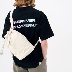 [리플라이퍼키] RN#8004 그라데이션 로고 티셔츠 (Black)