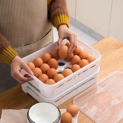 PH 적층가능한 계란 케이스 보관함 24구