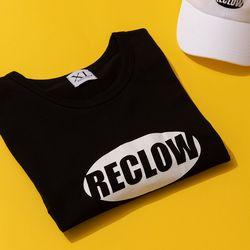 [리끌로우] RECLOW LOGO TEE BLACK