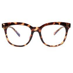 [리끌로우] B016 안경 브라운