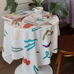 쉐어버터플라이무브 식탁보 테이블보 170x140cm