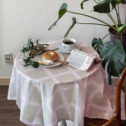 쉐어베이지클럽 식탁보 테이블보 170x140cm