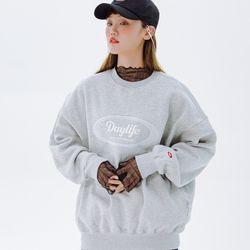 데이라이프 로고 스웨트 셔츠 (그레이)