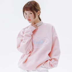 데이라이프 로고 스웨트 셔츠 (핑크)