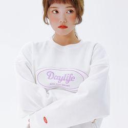 데이라이프 로고 스웨트 셔츠 (화이트)