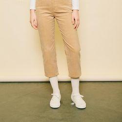 CORDUROY PANTS [BEIGE]