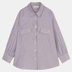 후다 스트라이프 셔츠 DAYW20T11