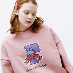 PASTEL CAT LOGO SWEATSHIRT [SOFTPINK]