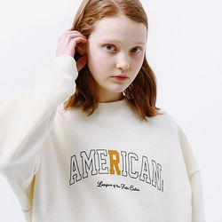 CAT SERIES SWEATSHIRT [CREAM]
