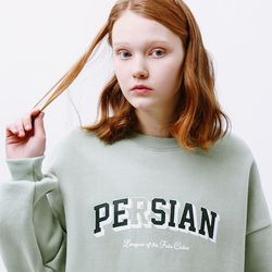 CAT SERIES SWEATSHIRT [SOFTGREEN]