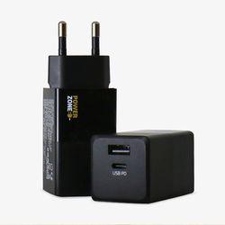 [파워존] USB PD 충전기 45W 퀵차지 고속충전 멀티 C타입 슬림형