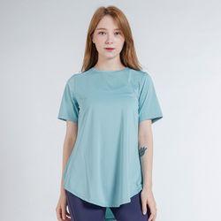 DURAN 이지 롱 반팔 티셔츠 DTF0S-3011 스카이