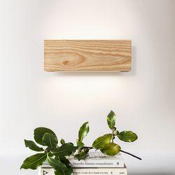 모던우드 LED 벽등 13W [애쉬]