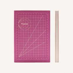 Signature Mathematical Grid Notebook (A5) Passion
