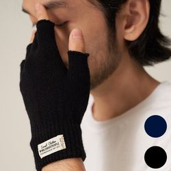 T204AACU61 WH LABEL FINGERLESS GLOVES