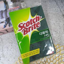 스카치 브라이트 다목적 수세미 대